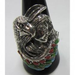 anillo de plata 925 águila...