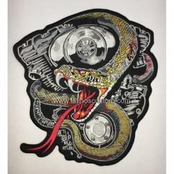 parche espaldera serpiente...
