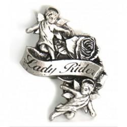 pin lady rider ángeles con...