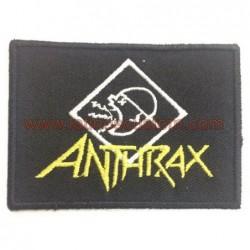 parche rock pequeño anthrax...