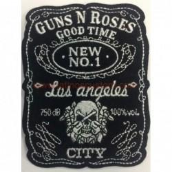 parche rock pequeño guns n...