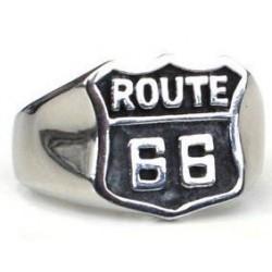 Anillo de acero Route 66...