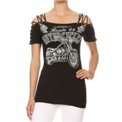 Camiseta Mujer Manga Corta...