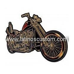parche espaldera moto king...