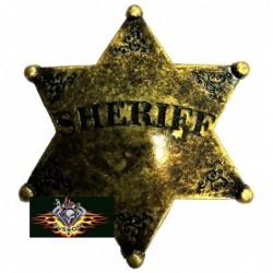 Pin estrella sheriff dorada...