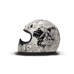 casco integral Dmd racer...