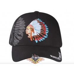 gorra negra native pride...
