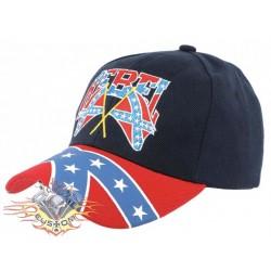 Gorra negra bandera...