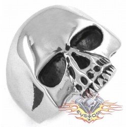 anillo de acero 316L old skull