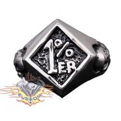 anillo de acero 316L 1%...