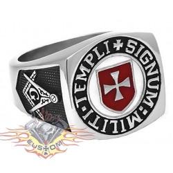 anillo de acero 316L masón...