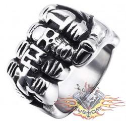 anillo de acero 316L puño...