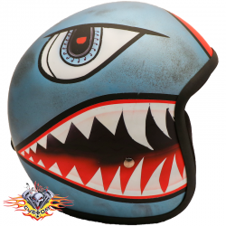 casco jet Pi Wear evo shark...