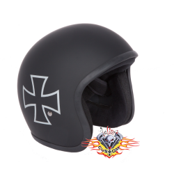 Casco Jet Evo Iron Cross