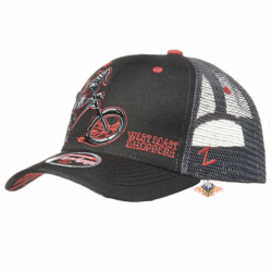 gorra negra West Coast...