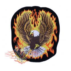 parche espaldera águila con...