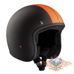 casco jet Bandit race negro...