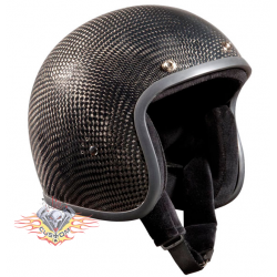 casco jet Bandit carbono no...