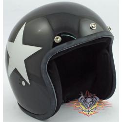 casco jet Bandit star negro...