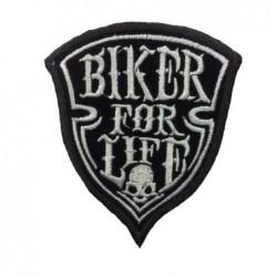 parche pequeño escudo biker...