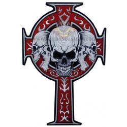 Parche espaldera cruz celta...