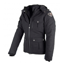 chaqueta moto hombre tejido...