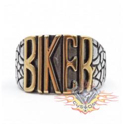 anillo de acero 316L letras...