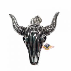 colgante cráneo de toro