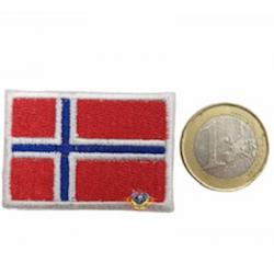 parche bandera de noruega...