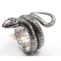 Anillo de Acero 316L serpiente