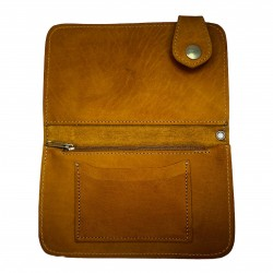 billeteras cuero marrón...