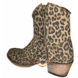 botines Sendra 15964 Leopardo