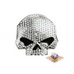Hebilla Skull con brillantes
