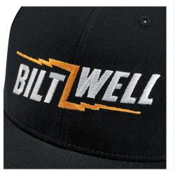 gorra negra Biltwell Bolts...