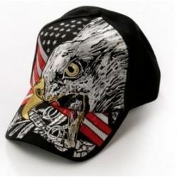 Gorra negra águila con...