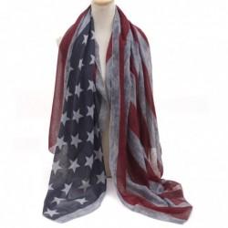 fular grande bandera americana