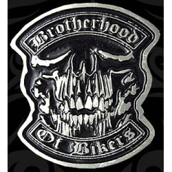 Pin brotherhood of bikers
