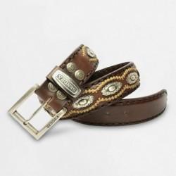 Cinturón de cuero de vaca...