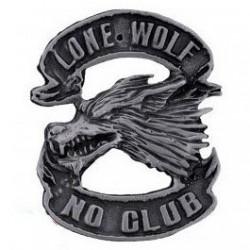 Pin cabeza lobo lone wolf...