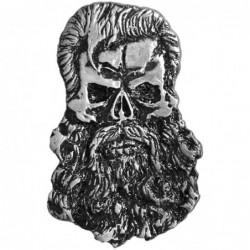 Pin calavera hipster