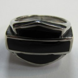 anillo de acero 316L logo...