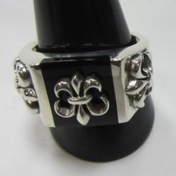 anillo de plata 925 flor de...