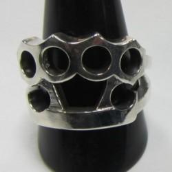 anillo de plata 925 puño...